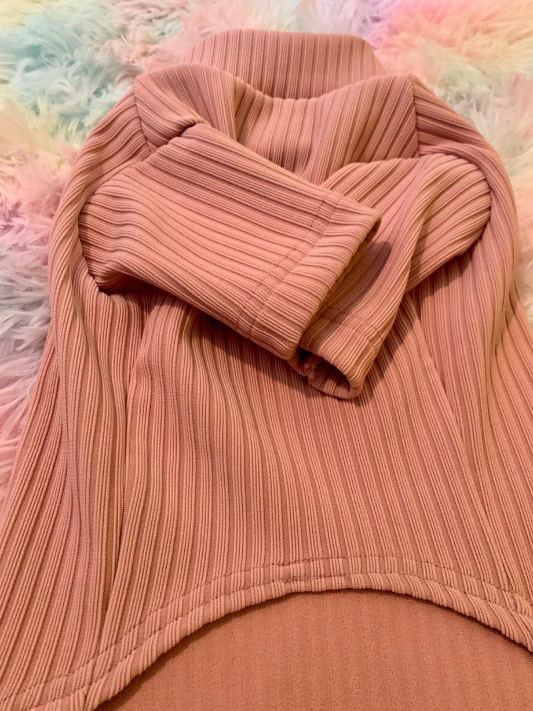 Maglione a coste Pink