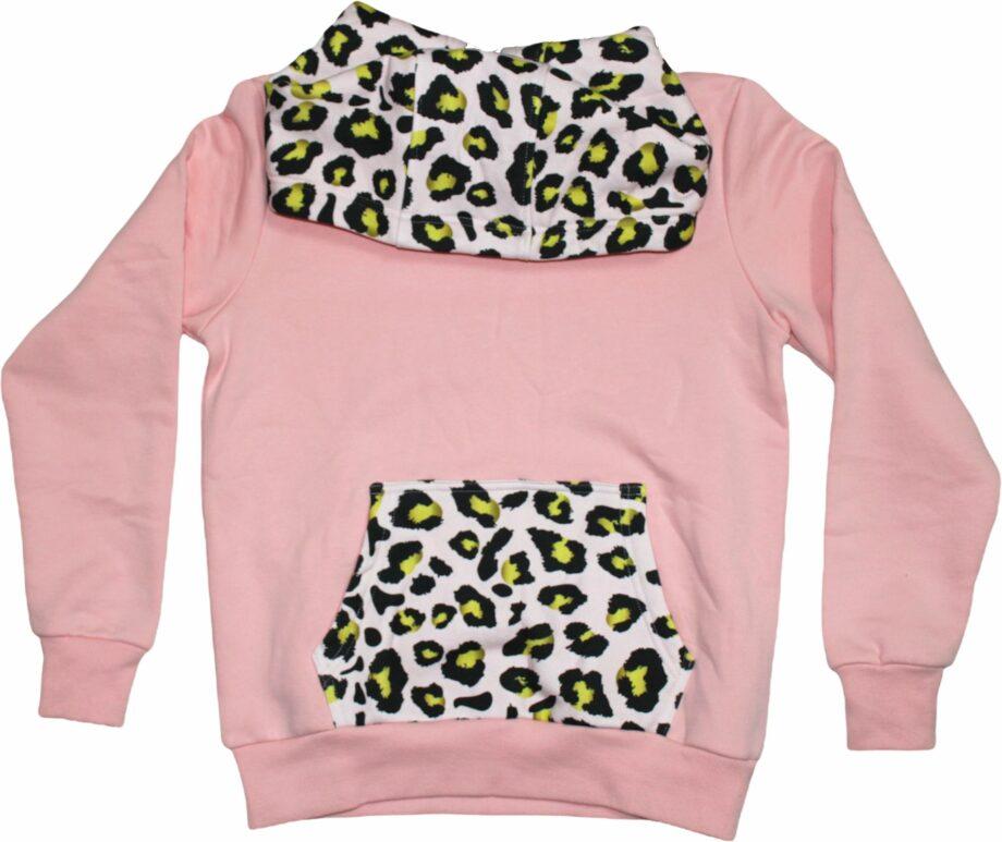 Felpa Lux Leopard da donna