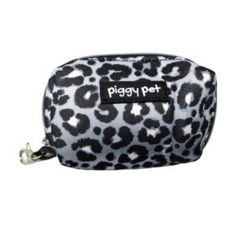 Porta sacchetti Silver Lux Leopard